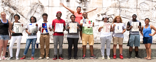 Anacostia High School Students in Cuba