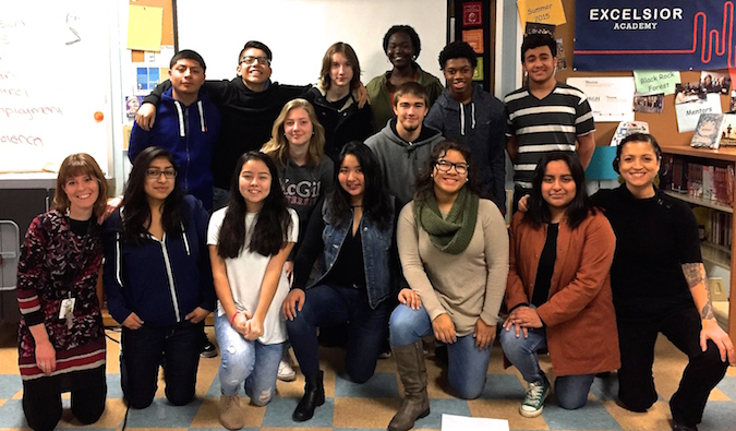 Excelsior Academy FLYTE Students 2017